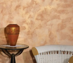 Декоративна боя с цветни металик нюанси цена София